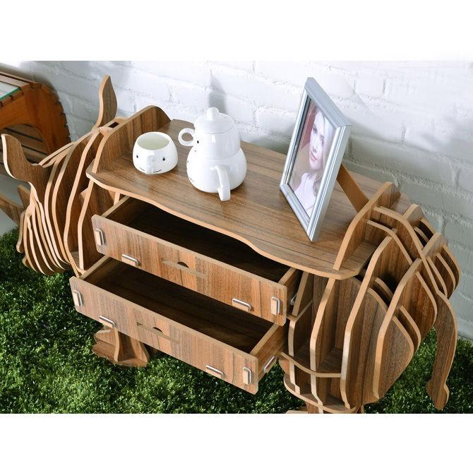 "Носорог - дизайнерский шкаф - стол - полка ""Носорог"""