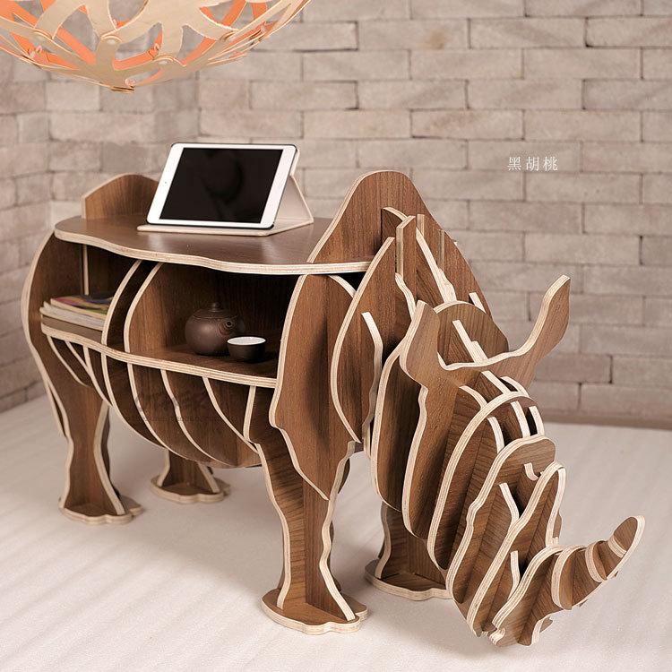Носорог - дизайнерский компьютерный стол, журнальный стол под планшет