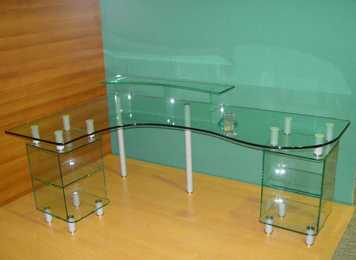 Как сделать стеклянный стол дома