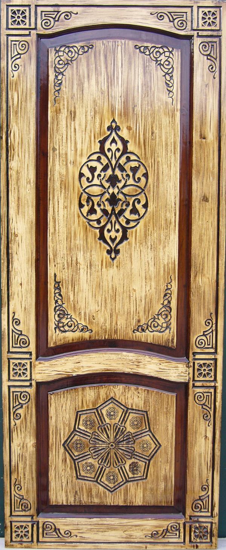 Резные двери из дерева своими руками 9